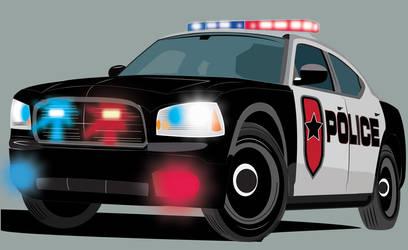 Police Car by vin1968