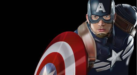 Captain America by vin1968