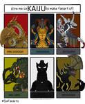 Ryuga's First Six: Kaiju!
