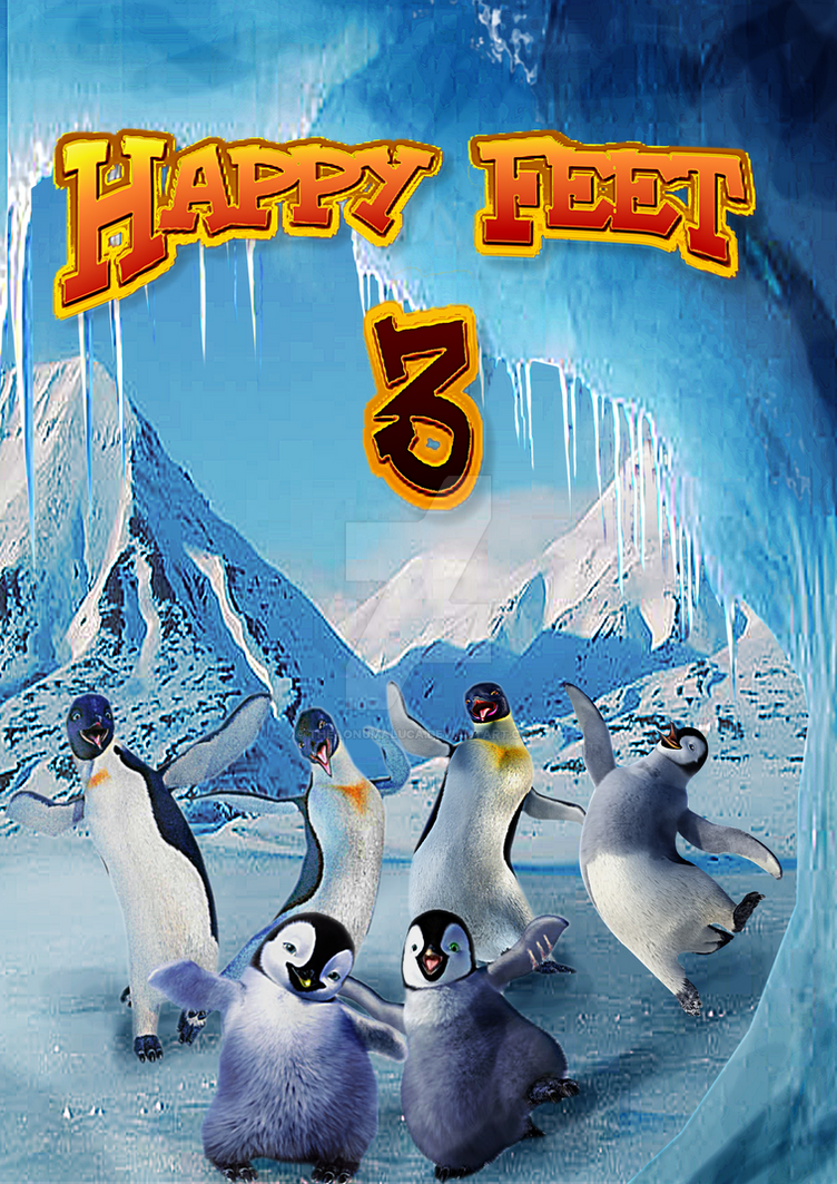 Happy Feet 3 Poster By Shaymin Lea On Deviantart