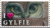Stamp - I love Gylfie (Legend of the Guardians) by Shaymin-Lea
