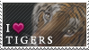 Stamp - I love Tigers by Shaymin-Lea