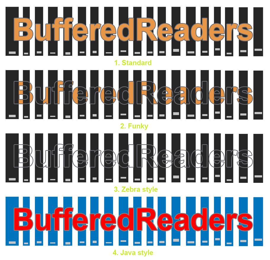 BufferedReaders Logo Mock-ups by anniechatsa