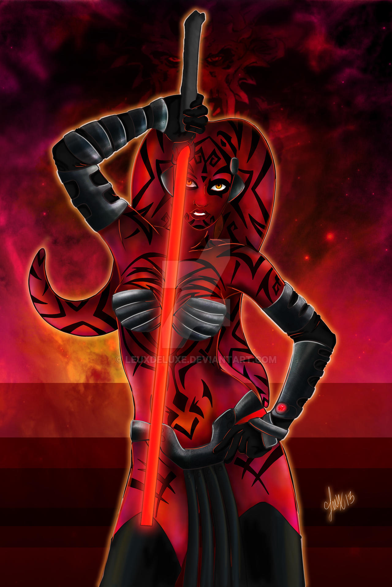 Darth Talon Color by Leuxdeluxe
