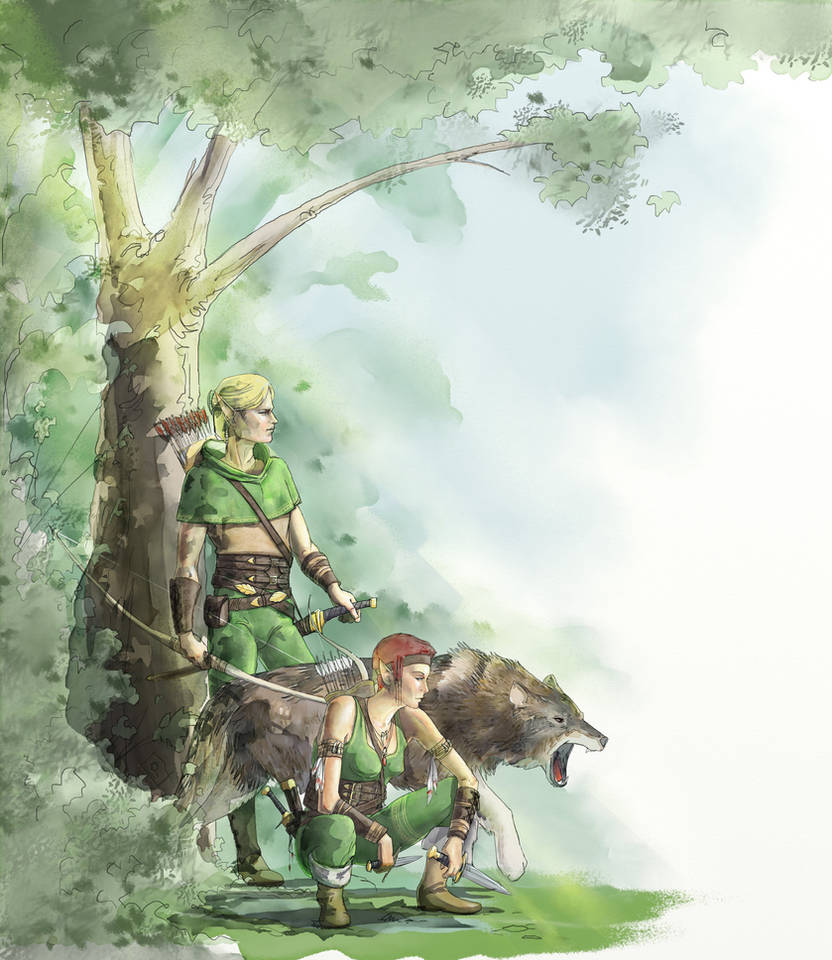 Elves-300715 by pixelstration