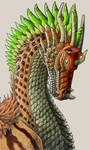 Pen and Pencil Dragon - Rehema - Merciful