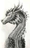 Pen and Pencil Dragon - Zane - Noble