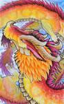 Orange Sky Dragon