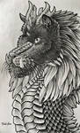 Black Dragon Doodle