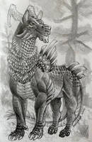 Horse-Dragon Creature