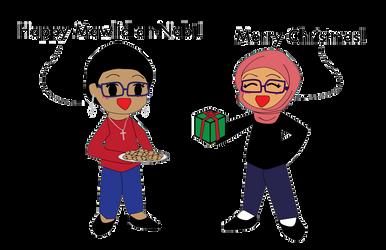Happy Holidays! by Nahmala