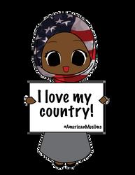 American Muslim by Nahmala