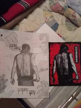 Daryl Dixon Drawing Comparison