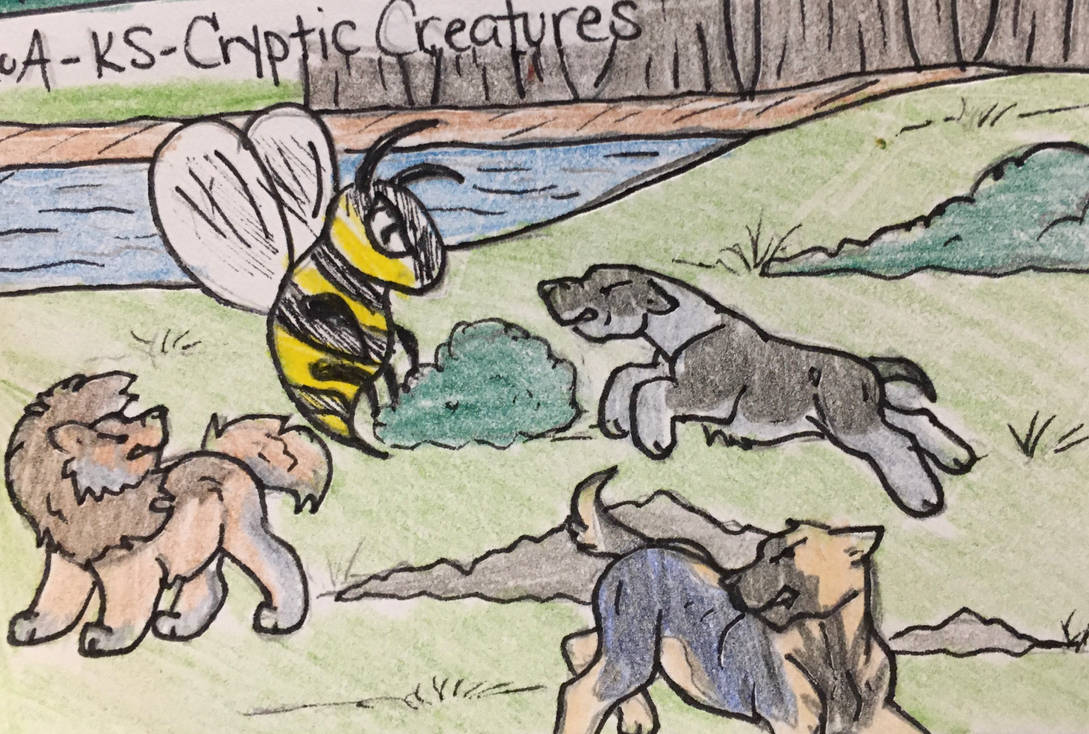 RoA - Cryptic Creatures - Giant Hornet!
