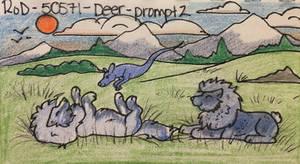 RoD - Deer: Prompt 2 - Rolling in Nice Green Grass