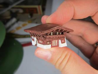 Miniature House by WienerZauberwerk