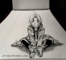 SPECIAL 3D SKETCH ~~ Edward Elric ~~