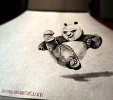 3D Drawing  - PO - KFP by Iza-nagi
