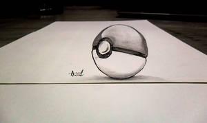 OLD 3D Sketch - Pokeball