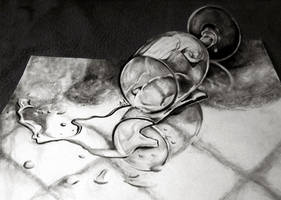 Somewhat 3D Drawing by Iza-nagi