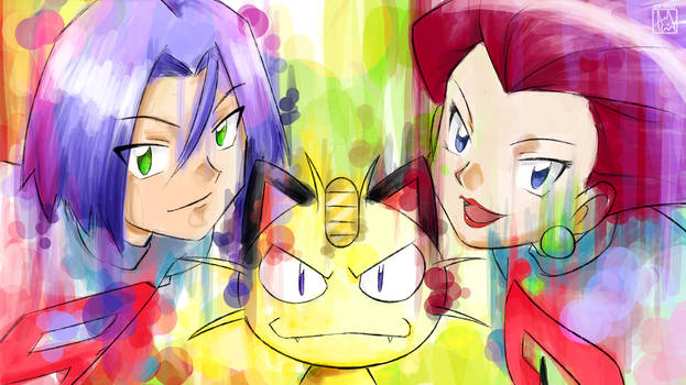 Splash of Team Rocket!