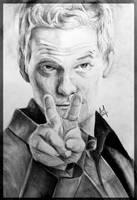 Only 2H - Barney Sketchy Stinson - by Iza-nagi