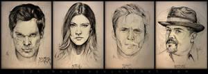 Sketchpressive - Dexter Cast
