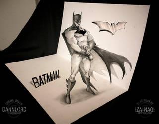 The Bat - A 3D Drawing by Iza-nagi