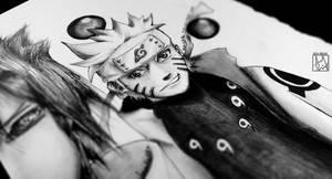 Some Random Naruto Drawing Preview