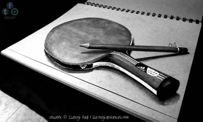 Two Obsessions - 3D DRAWING ON PAPER