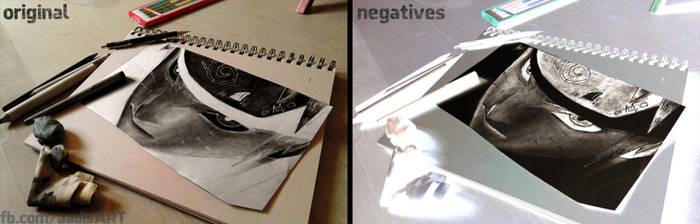 Negative Art - Naruto 690
