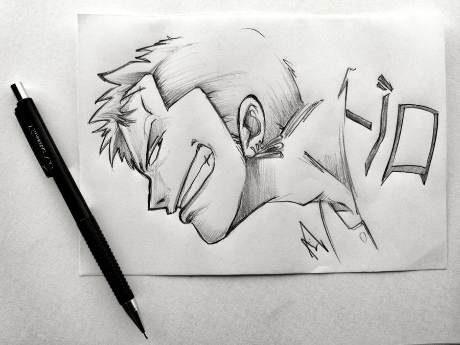 One Piece Tiny Sketch Collection - ZORO by Iza-nagi