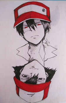 Red/Ash