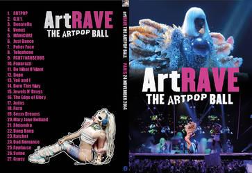 artRAVE DVD Cover (slim case) by john-york