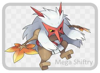 fake Mega Shiftry by nurebaironohoshi