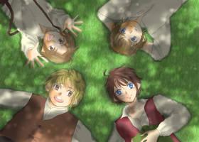 Hobbits by M-azuma