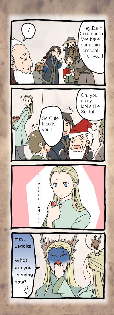 Hobbit at X'mas by M-azuma