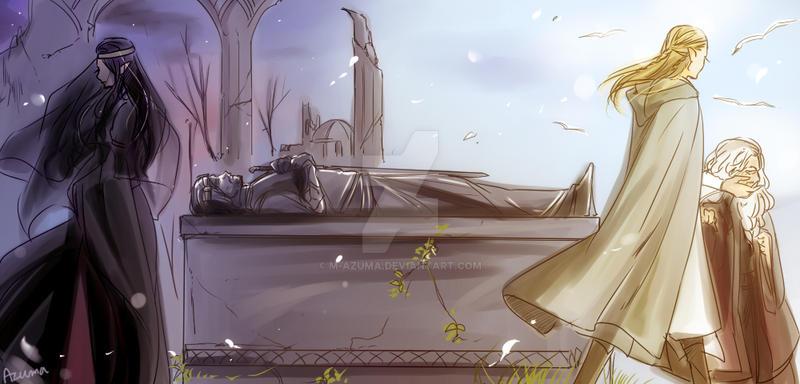 Evenstar and Greenleaf by M-azuma