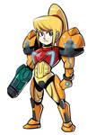 Samus custom armor
