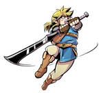 Link Has A Big Sword Color