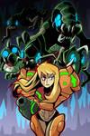 Metroid 2 poster