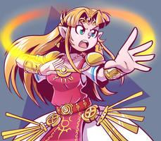 Zelda by Anaugi