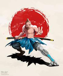Samurai Reedo by rain-ant
