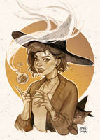 Modern day witch by DD1992