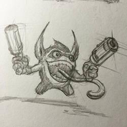 trigger sketch by billyt1978