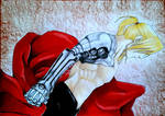 Edward Elric - Fullmetal Alchemist  by AjkaSketch