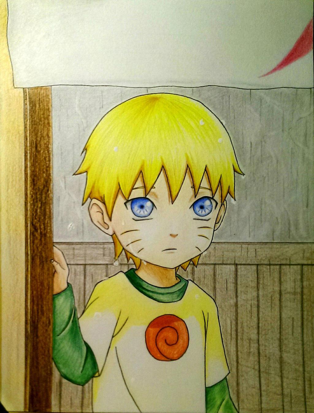 Kid Naruto Uzumaki - First time at Ichiraku's by ...