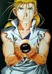Van Hohenheim - Fullmetal Alchemist: Brotherhood by AjkaSketch
