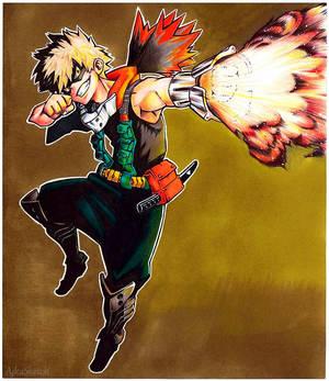 (AT) Bakugou Katsuki - Boku no Hero Academia