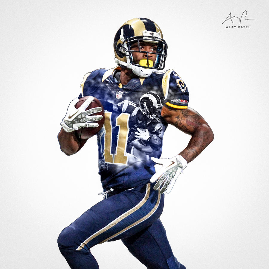 tavon austin   st louis rams by alaypatel on deviantart